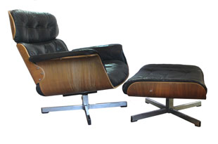 FRN702: Lounge Chair and Ottoman Designed by Scholl