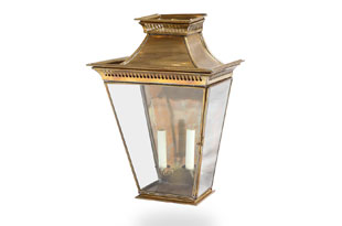: Wall Mounted Pagoda Lantern