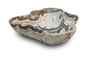 ACC4164: Free-Form Hand Carved Onyx Bowl
