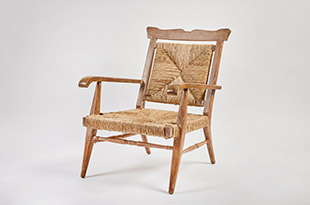FRN2066: Harbinger by Hand Rush and Oak Armchair