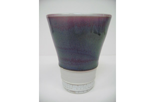 ACC1106: Brown, Purple and White  Cup