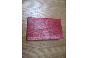 ACC988: Red Leather Address Book