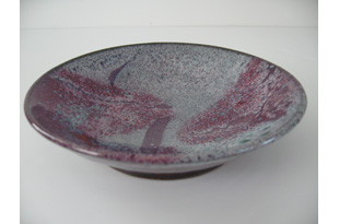 ACC827: Red Flat Bowl