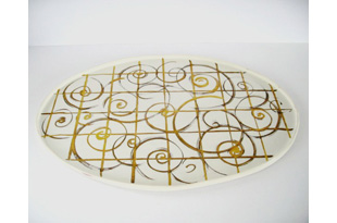 ACC592: Golden Curls Tray