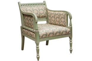 FRN230: Harbinger Oslo Painted Armchair
