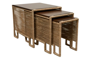 FRN258: Harbinger Rope Nesting Tables