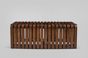 FRN168: Harbinger Oyster Bay Slatted Coffee Table
