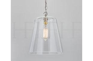 : Hector Finch Glass Bell Shade