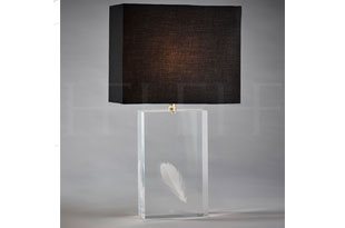 : Hector Finch Feather Table Lamp
