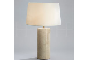 : Hector Finch Shagreen Table Lamp