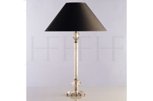: Hector Finch Jayne Glass Table Lamp