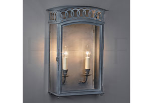 : Hector Finch Olympic Wall Lantern Large
