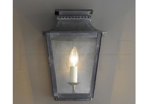 : Hector Finch Zeus Wall Lantern Small