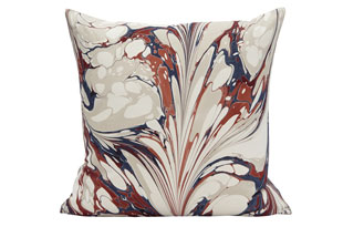 : Rule Of Three StonePlume CannaLily Square Pillow