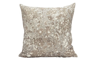 : Rule Of Three Topo Cement Square Pillow