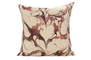 : Rule Of Three StonePlume DarbyRose Square Pillow
