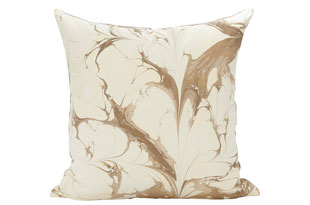 : Rule Of Three StonePlume WinterWhite Square Pillow